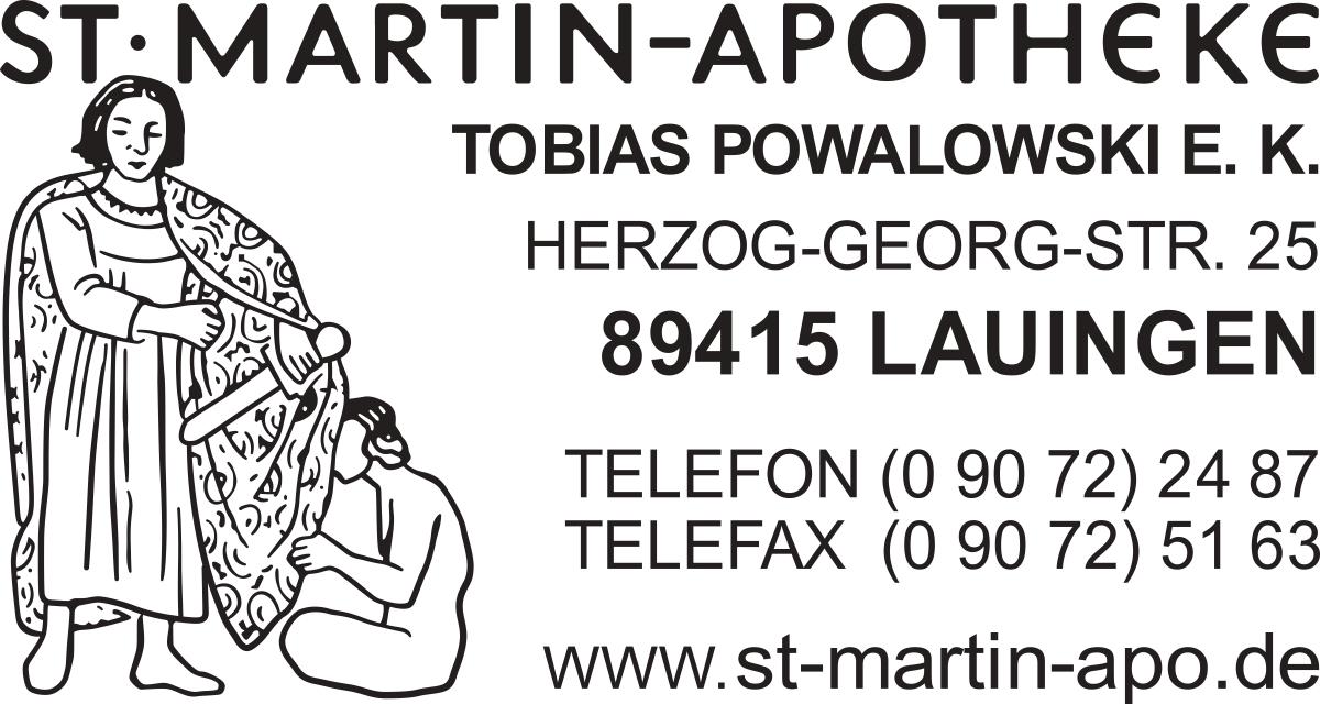 St. Martin Apotheke Vektor Logo